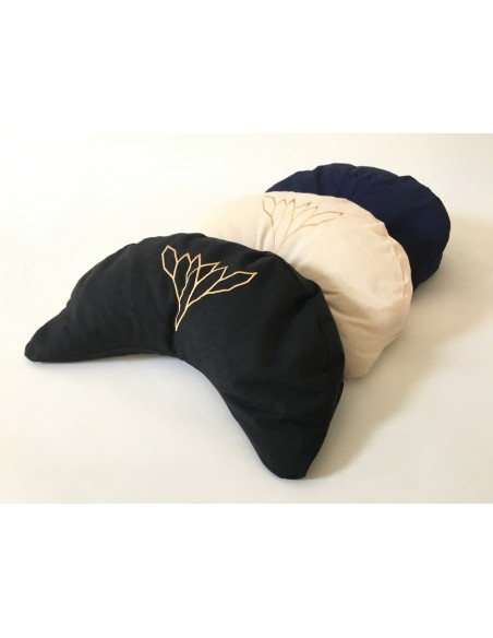 YogaEssential Half-moon Meditation cushion - Large