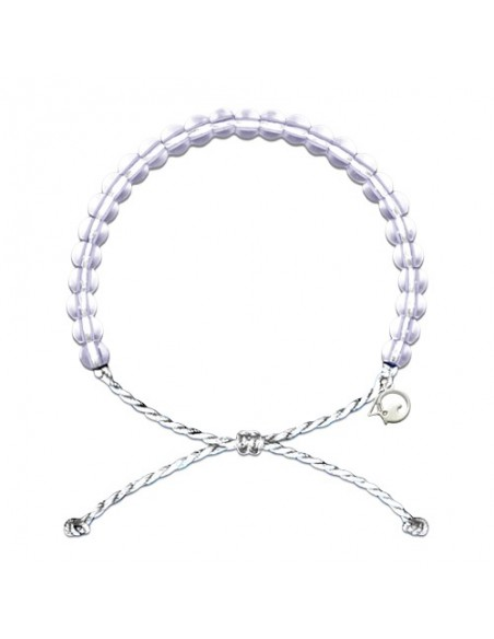 4Ocean Polar Bear White Bracelet - LIMITED EDITION