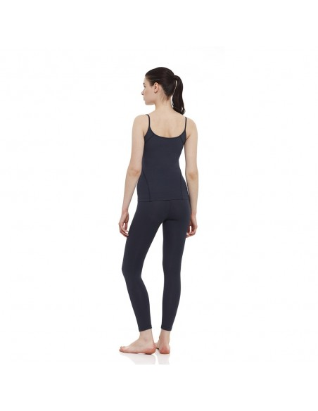 Outfit: young yoga top + high waist yoga leggings (blue)