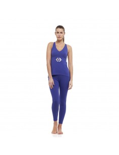 Ajna Outfit: ajna yoga top + high waist ajna yoga leggings (indigo)