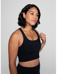 Paloma Bra Classic - (Black) - Girlfriend Collective