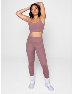 High-Rise Legging - Long (Rose Quartz) - Girlfriend Collective