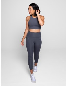 High-Rise Legging - Long (Smoke) - Girlfriend Collective