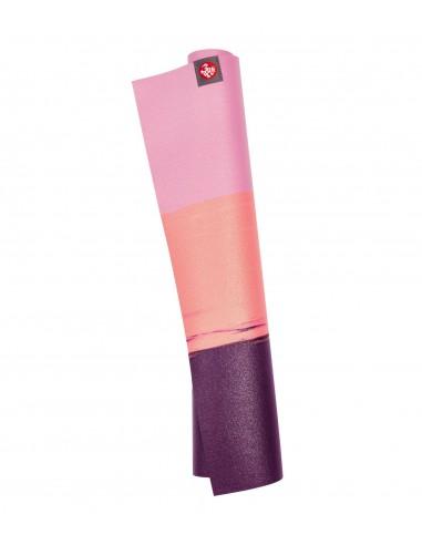 Manduka eKO SuperLite Travel Yoga Mat - Fuchsia Stripe