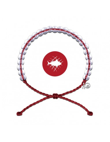 4Ocean Overfishing Red Bracelet - LIMITED EDITION