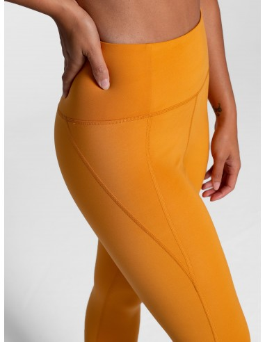 Leggings Vita Alta 7/8 (Honey) - Girlfriend Collective