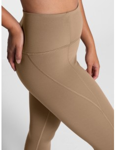 Leggings Vita Alta 7/8 (Sand) - Girlfriend Collective
