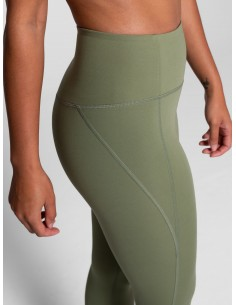 Leggings Lungo Vita Alta (Olive) - Girlfriend Collective