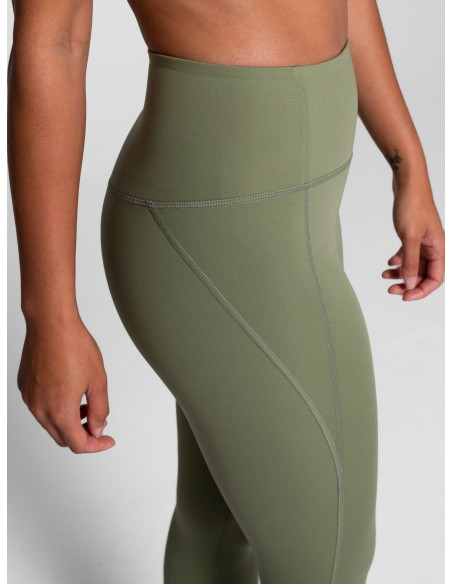 High-Rise Long Legging (Olive) - Girlfriend Collective
