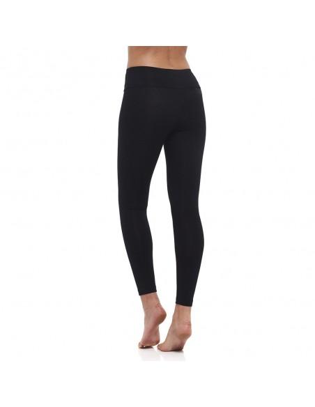 Vita alta - leggings Yoga Nero - Yoga Essential