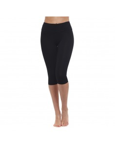 High-waist black capri Yoga Leggings  - Yoga Essential